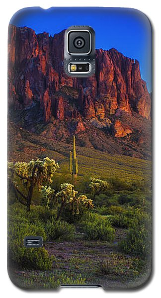 Superstition Mountain Sunset Galaxy S5 Case