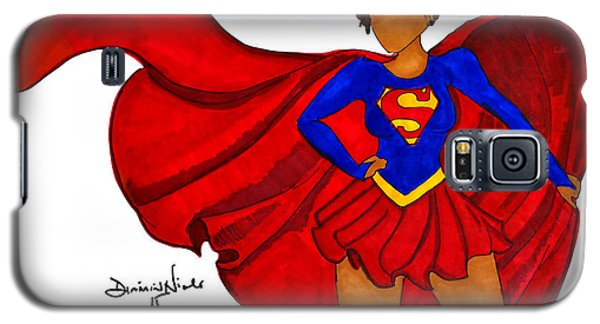 Superhero Galaxy S5 Case - Superwoman I Am  by Diamin Nicole