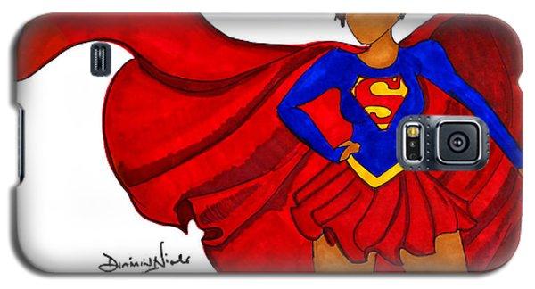 Superhero Galaxy S5 Case - Superwoman I Am  by Diamin Nicole