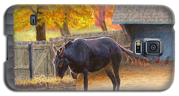 Galaxy S5 Case featuring the painting Supper Time by Joe Bergholm