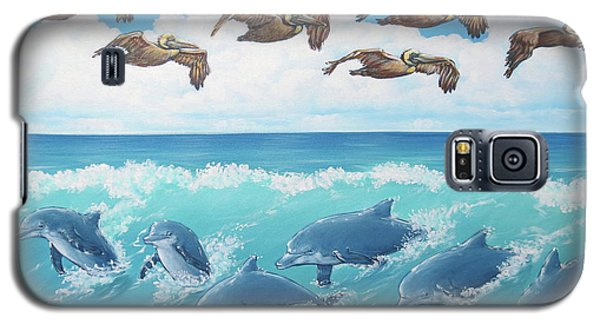 Surf And Soar Galaxy S5 Case