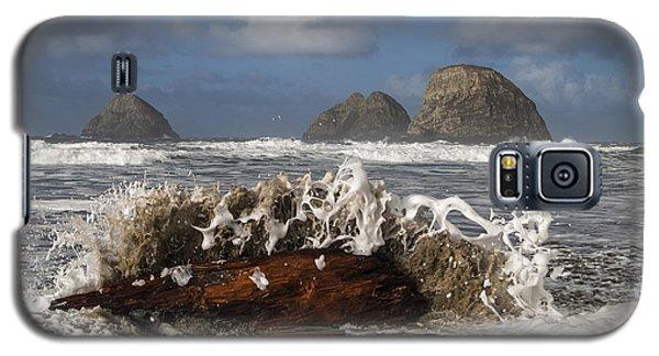 Surf And Three Arch Rocks Galaxy S5 Case