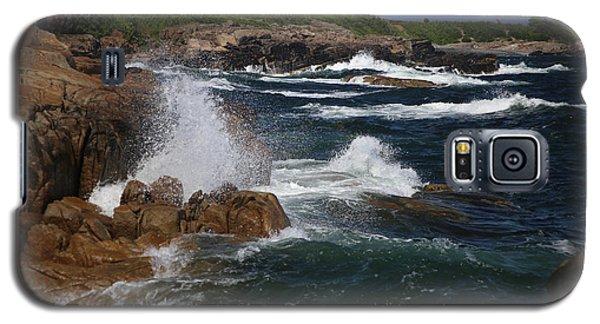Surf At Biddeford Pool Galaxy S5 Case