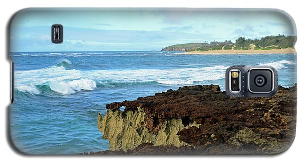 Surf At Mahaulepu Beach Hawaii Galaxy S5 Case