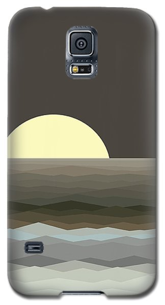 Surf At Moonrise Galaxy S5 Case