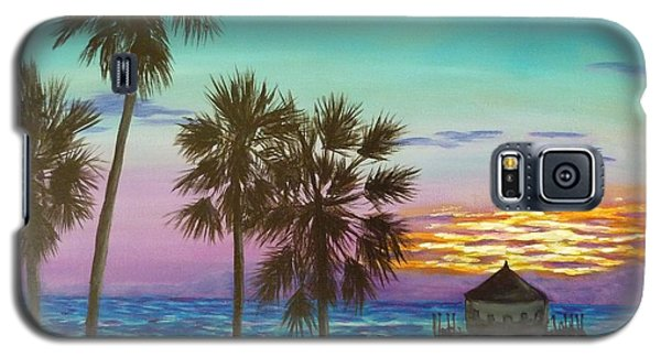Surf City Sunset Galaxy S5 Case