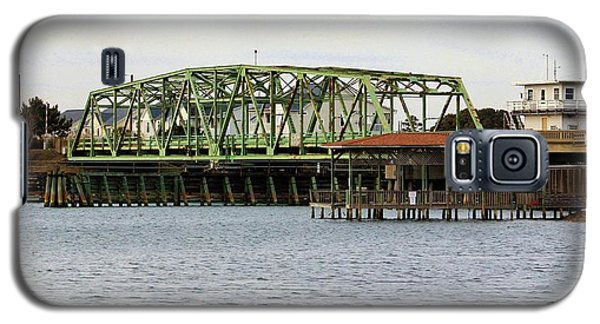 Surf City Swing Bridge Galaxy S5 Case by Cynthia Guinn