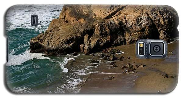 Surf Fishing At Ocean Beach Galaxy S5 Case