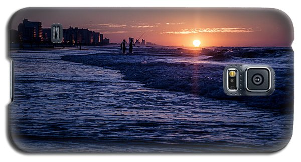 Surf Fishing At Sunrise Galaxy S5 Case