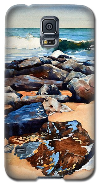 Surf On The Jetty Galaxy S5 Case