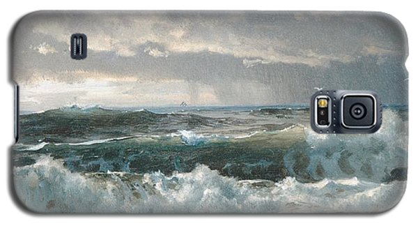 Surf On The Rocks Galaxy S5 Case