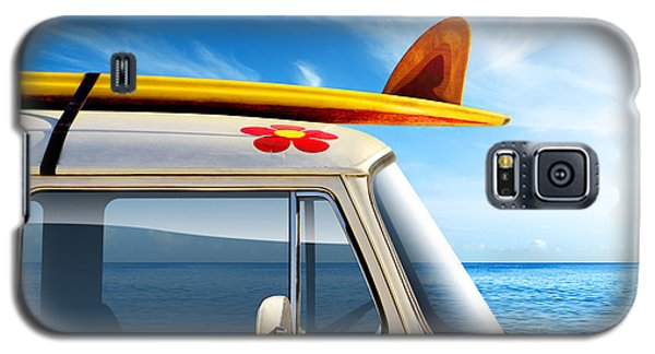 Surf Van Galaxy S5 Case by Carlos Caetano