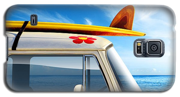 Transportation Galaxy S5 Case - Surf Van by Carlos Caetano