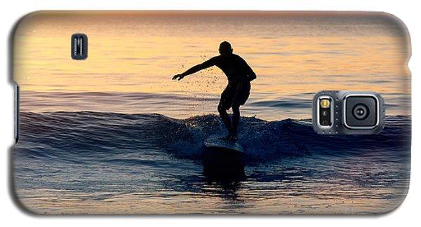 Surfer At Dusk Galaxy S5 Case