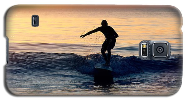 Surfer At Dusk Galaxy S5 Case