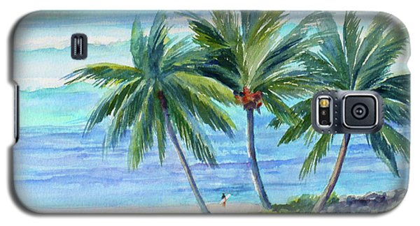 Surfer At Waikiki Galaxy S5 Case