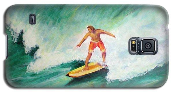 Surfer Dude Galaxy S5 Case by Patricia Piffath
