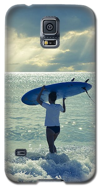 Surfer Girl Galaxy S5 Case