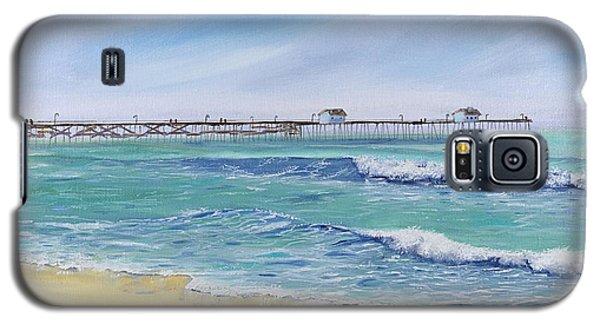 Surfing In San Clemente Galaxy S5 Case