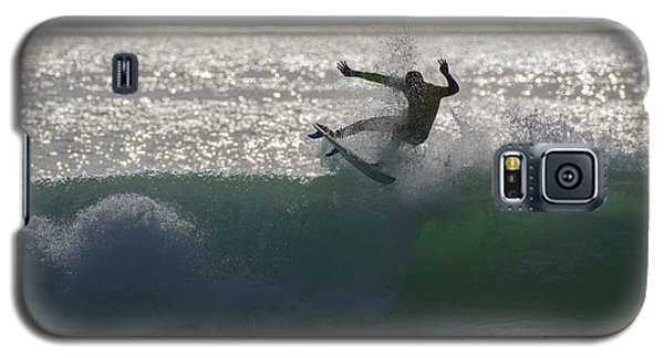 Surfing The Light Galaxy S5 Case by Thierry Bouriat
