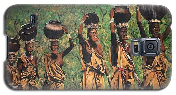 Blaa Kattproduksjoner        Surma Women Of Africa Galaxy S5 Case