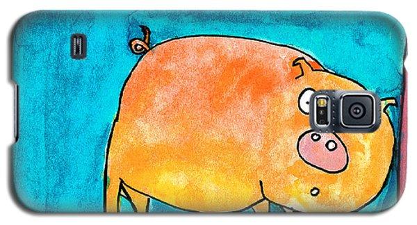 Surprised Pig Galaxy S5 Case