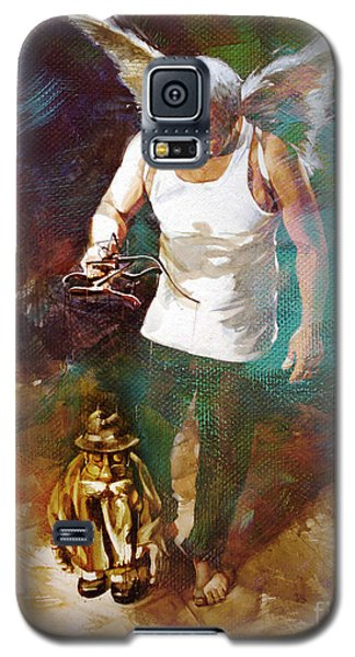 Galaxy S5 Case featuring the painting Surreal Art  by Gull G