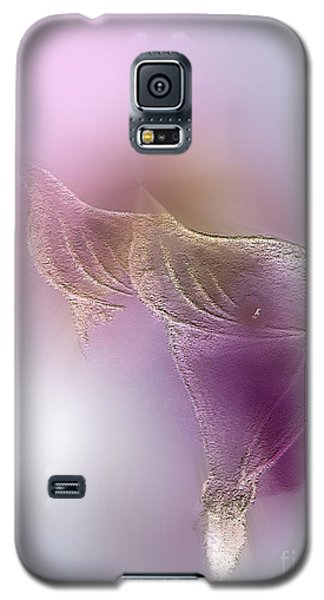 Galaxy S5 Case featuring the digital art Surreal Calla 2 by John Krakora