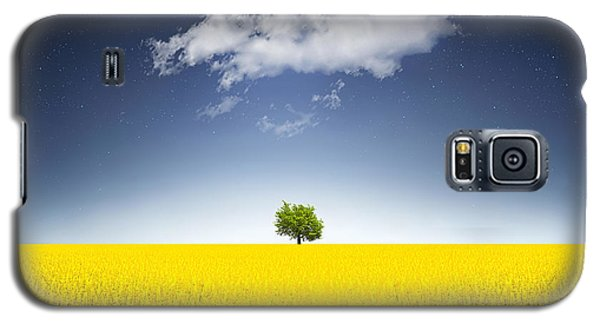 Surreal Canola Field Galaxy S5 Case