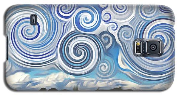 Surreal Cloud Blue Galaxy S5 Case