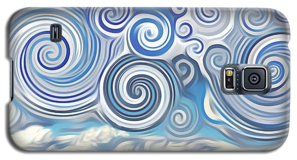 Surreal Cloud Blue Galaxy S5 Case