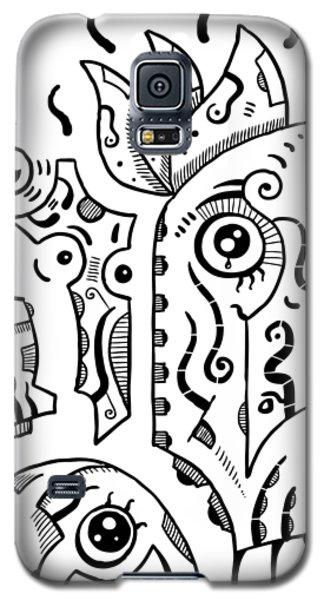 Surrealism Eyes Galaxy S5 Case