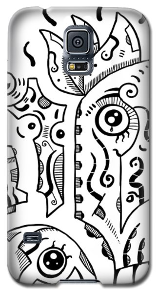 Surreal Eyes Galaxy S5 Case