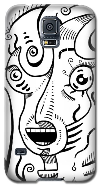Surreal Scream Galaxy S5 Case