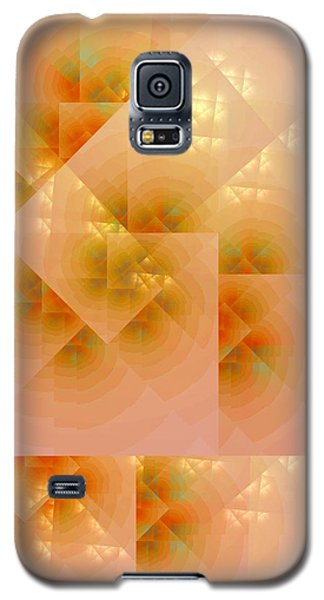 Galaxy S5 Case featuring the digital art Surreal Skylight by Richard Ortolano