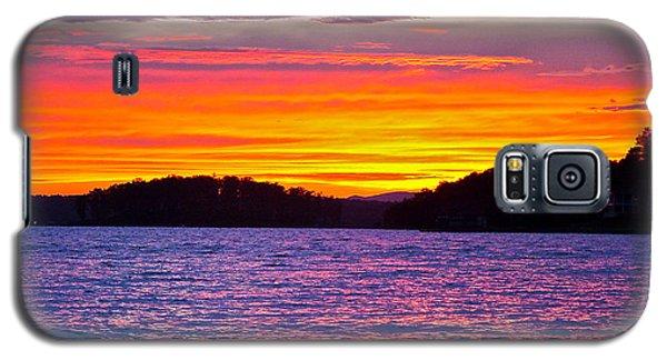 Surreal Smith Mountain Lake Sunset 2 Galaxy S5 Case