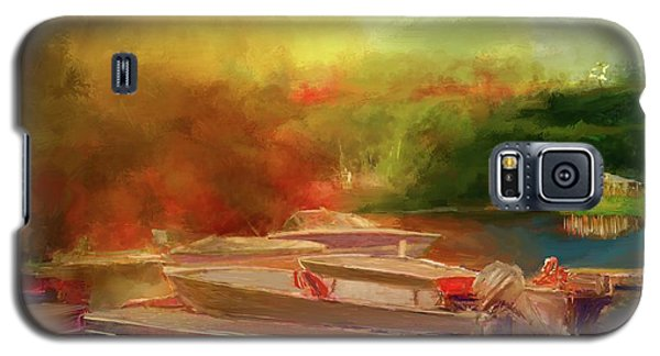 Surreal Sunset In Spanish Galaxy S5 Case