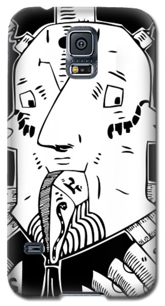 Surrealism Oil Pump Galaxy S5 Case
