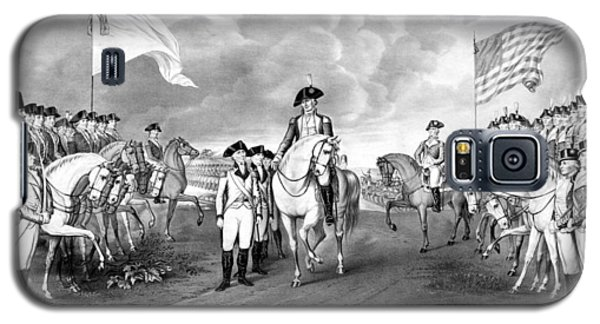 Surrender Of Lord Cornwallis At Yorktown Galaxy S5 Case by War Is Hell Store