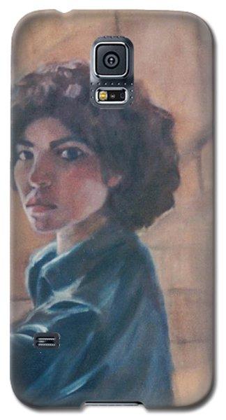 Susan Berger - Suzn Smith - Self Portrait Galaxy S5 Case