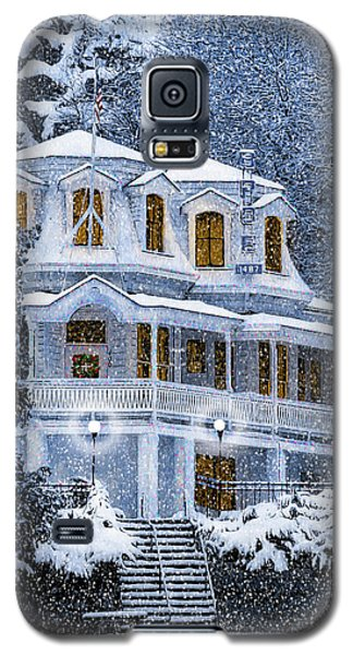 Susanville Elks Lodge At Christmas Galaxy S5 Case