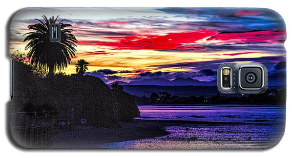 Galaxy S5 Case featuring the photograph Suset Beach by Rick Bragan