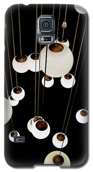 Galaxy S5 Case featuring the photograph Suspended - Balls Of Light Art Print by Jane Eleanor Nicholas