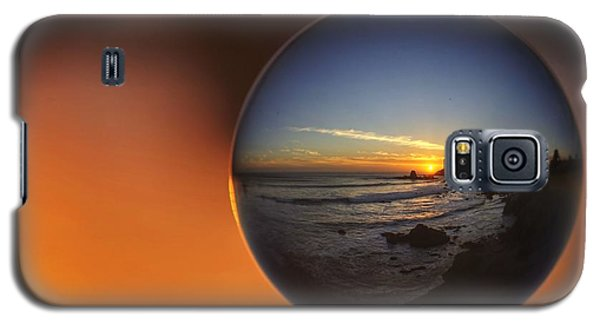 Galaxy S5 Case featuring the photograph Suspended Sunset by Quality HDR Photography