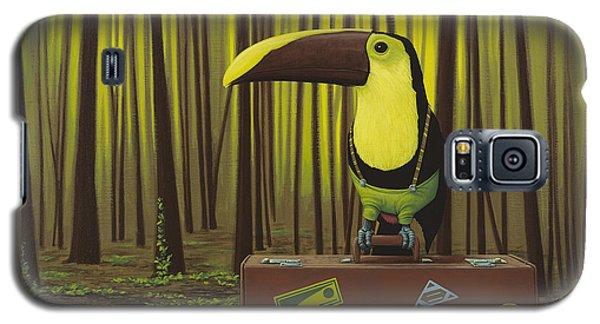 Toucan Galaxy S5 Case - Suspenders by Jasper Oostland