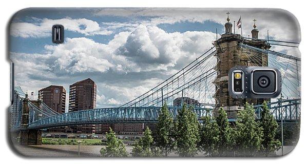 Suspension Bridge Color Galaxy S5 Case by Scott Meyer
