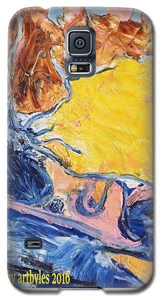 Sussex Waterways  Galaxy S5 Case