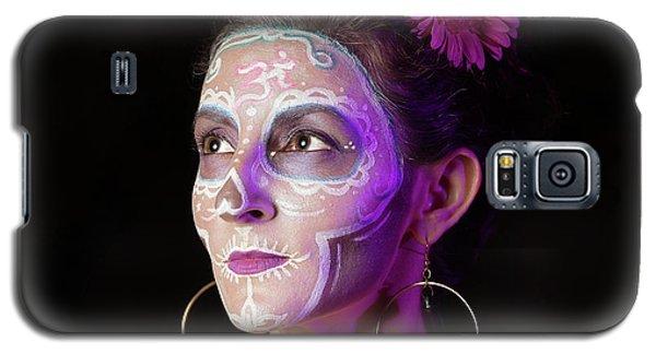 Suz's Sugar Skull Four Galaxy S5 Case