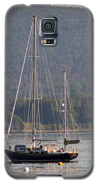 Sw Harbor Fall Haze Galaxy S5 Case by Dick Botkin
