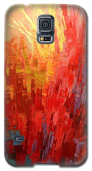 Galaxy S5 Case featuring the painting Swagger Of A Troubador by Tatiana Iliina